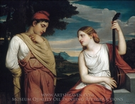 The Greek Lovers painting reproduction, Henry Peters Gray