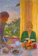 The Green Blouse painting reproduction, Pierre Bonnard