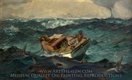 The Gulf Stream painting reproduction, Winslow Homer