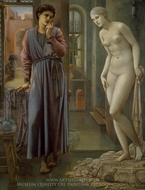 The Hand Refrains painting reproduction, Edward Burne-Jones