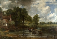 The Hay Wain painting reproduction, John Constable
