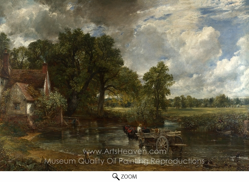 John Constable, The Hay Wain oil painting reproduction
