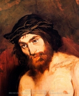The Head of Christ painting reproduction, Edouard Manet