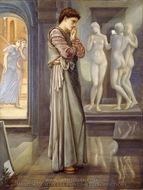 The Heart Desires painting reproduction, Edward Burne-Jones