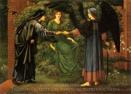 The Heart of the Rose painting reproduction, Edward Burne-Jones
