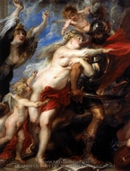 The Horrors of War painting reproduction, Peter Paul Rubens
