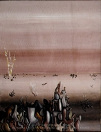 The Hostages painting reproduction, Yves Tanguy