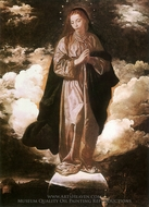 The Immaculate Conception painting reproduction, Diego Vel�zquez