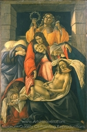 The Lamentation over the Dead Christ painting reproduction, Sandro Botticelli