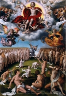 The Last Judgment painting reproduction, Joos Van Cleve