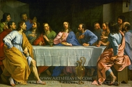 The Last Supper painting reproduction, Philippe De Champaigne