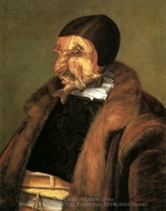 The Lawyer painting reproduction, Giuseppe Arcimboldo