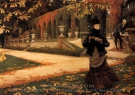 The Letter painting reproduction, James Tissot