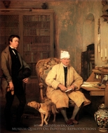The Letter of Introduction painting reproduction, Sir David Wilkie