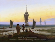 The Life Stages painting reproduction, Caspar David Friedrich
