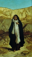 The Lost Mind painting reproduction, Elihu Vedder