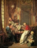 The Luncheon painting reproduction, Francois Boucher