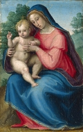 The Madonna and Child painting reproduction, Giovanni Antonio Sogliani