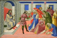 The Massacre of the Innocents painting reproduction, Sano di Pietro