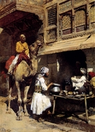 The Metalsmith's Shop painting reproduction, Edwin Lord Weeks