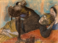 The Milliner painting reproduction, Edgar Degas