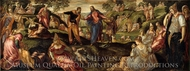 The Miracle of the Loaves and Fishes painting reproduction, Jacopo Tintoretto