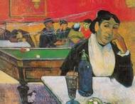 The Night Cafe painting reproduction, Paul Gauguin