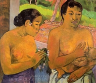 The Offering painting reproduction, Paul Gauguin