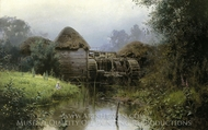The Old Mill painting reproduction, Vasiliy Polenov
