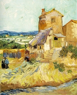 The Old Mill painting reproduction, Vincent Van Gogh