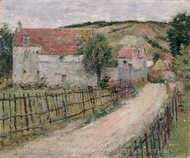 The Old Mill (Vieux Moulin) painting reproduction, Theodore Robinson