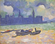 The Palace of Westminster painting reproduction, Andre Derain