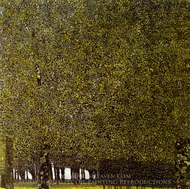 The Park painting reproduction, Gustav Klimt