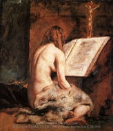 The Penitent Magdalen painting reproduction, William Etty