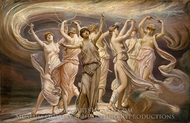 The Pleiades painting reproduction, Elihu Vedder
