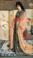 The Princess from the Land of Porcelain painting reproduction, James McNeill Whistler