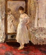 The Psyche (The Cheval Glass) painting reproduction, Berthe Morisot