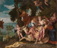 The Rape of Europa painting reproduction, Paolo Veronese