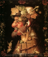 The Seasons: Autumn painting reproduction, Giuseppe Arcimboldo