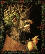 The Seasons: Winter painting reproduction, Giuseppe Arcimboldo