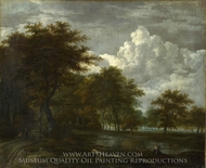 The Skirts of a Forest painting reproduction, Jacob Van Ruisdael
