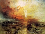 The Slave Ship painting reproduction, Joseph M. W. Turner