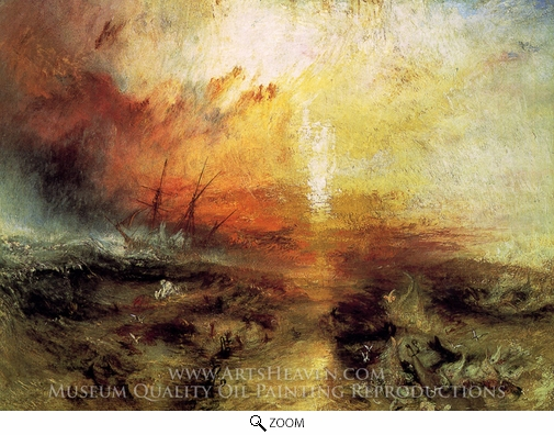 Joseph M. W. Turner, The Slave Ship oil painting reproduction