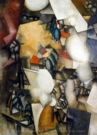 The Smokers painting reproduction, Fernand Leger
