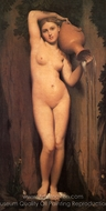 The Source (La Source) painting reproduction, Jean Auguste Dominique Ingres