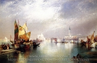 The Splendor of Venice painting reproduction, Thomas Moran
