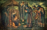 The Star of Bethlehem painting reproduction, Edward Burne-Jones