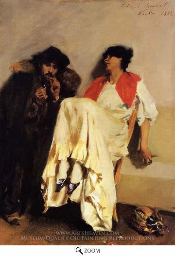 John Singer Sargent, The Sulphur Match oil painting reproduction