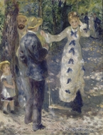 The Swing painting reproduction, Pierre-Auguste Renoir