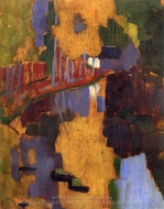 The Talisman painting reproduction, Paul Serusier
